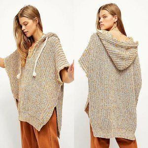 Free People Electric Aura Hoodie Pullover Small